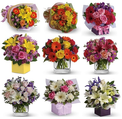 Our Newcastle upon Tyne Florist Top Ten flower styles